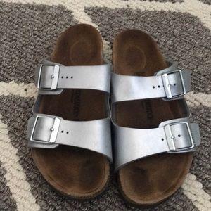 Birkenstock slide on sandals